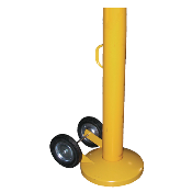 steel pipe bollards in stock / order online / delivery throughout Florida. It can easily be moved by a single person